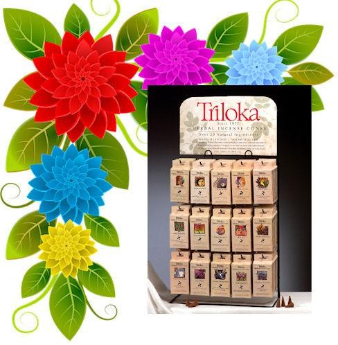 Triloka Incense Cones