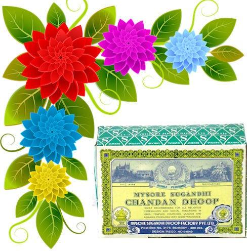 Chandan Dhoop Cones