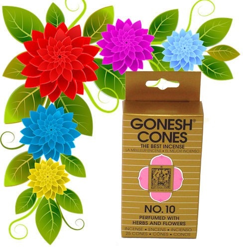 Gonesh Incense Cones